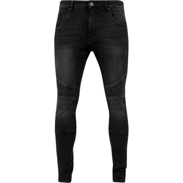 Urban Classics - SLIM FIT Denim Biker Stretch Jeans