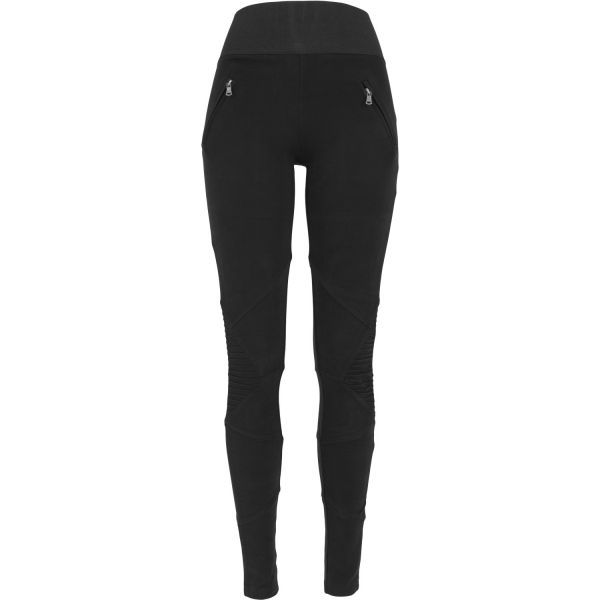 Urban Classics Ladies - INTERLOCK HIGH Leggings black