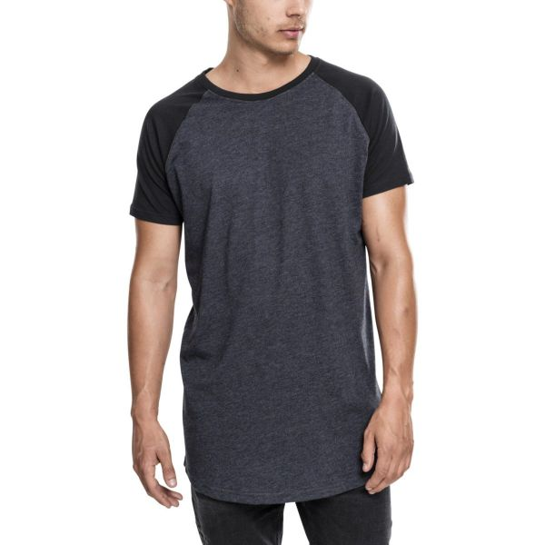 Urban Classics - LONG SHAPED RAGLAN Shirt extra lang