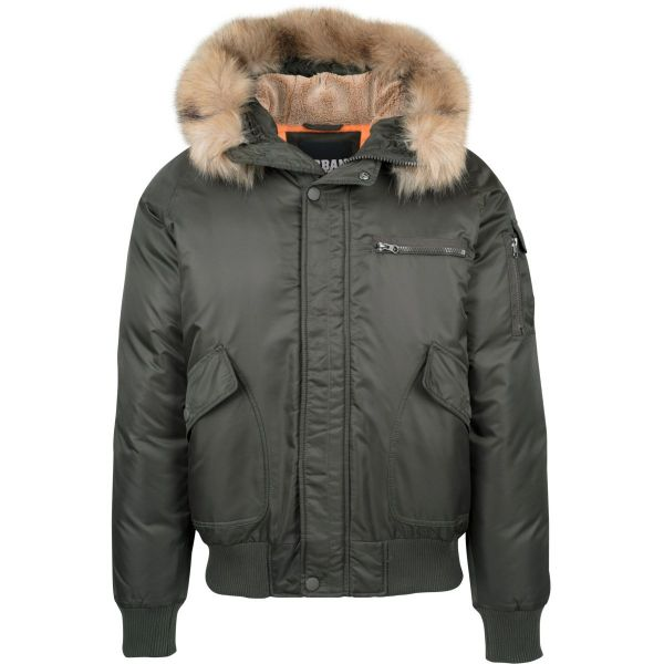 Urban Classics - Hooded Fell Heavy Bomber Pilot Winterjacke