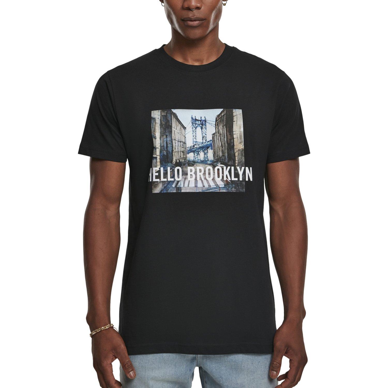 Mister Tee Shirt HELLO BROOKLYN black