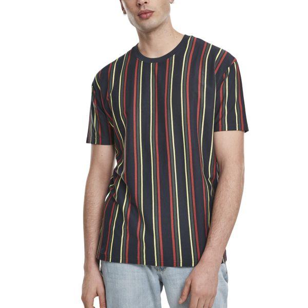 Urban Classics - Oversized Retro Stripe Shirt