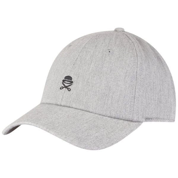 Cayler & Sons Curved Strapback Cap - ICON heather gris
