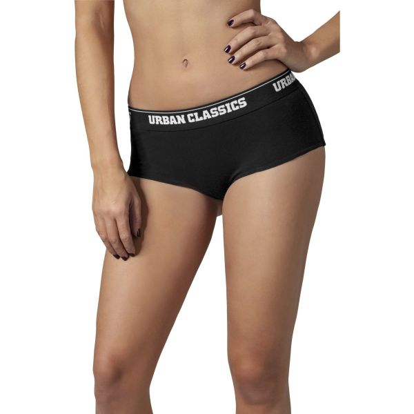 Urban Classics Ladies - Panty Sport Shorts 2er Pack Hipster