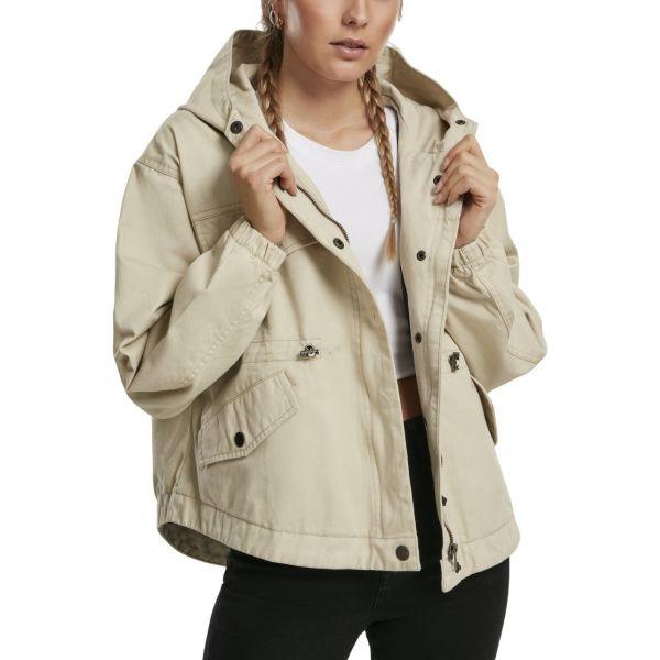 Urban Classics Ladies - Oversized Parka Windbreaker Jacke