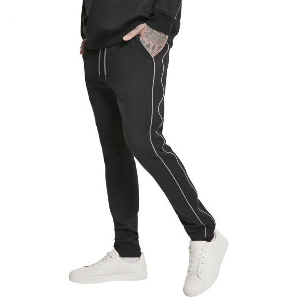 Urban Classics - REFLECTIVE Sweatpants schwarz