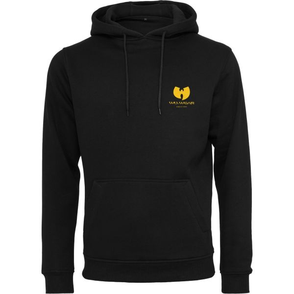 Wu-Wear Hip Hop Hoody - Big Back Logo schwarz
