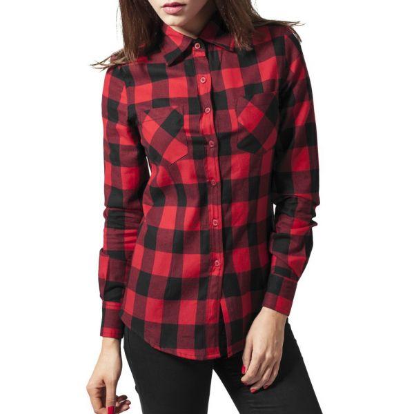 Urban Classics Ladies - FLANELL Holzfäller Hemd Shirt