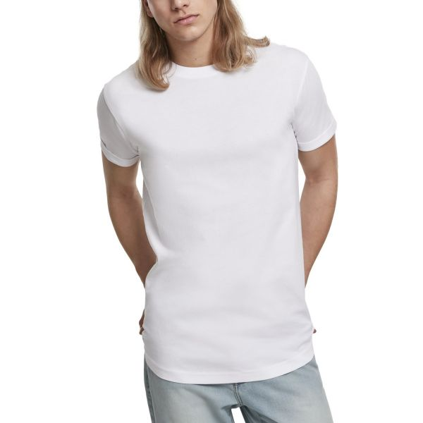 Urban Classics - Short Shaped Turn Up Shirt