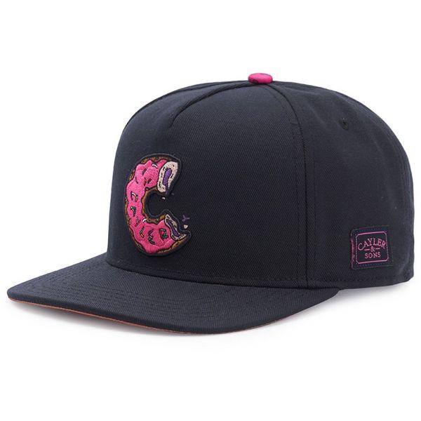 Cayler & Sons Snapback Cap - Los Munchos schwarz / pink