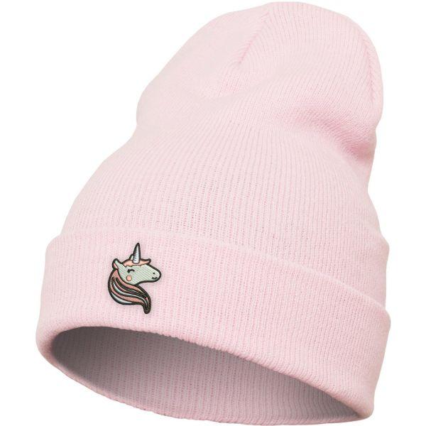 Mister Tee Wintermütze Long Beanie - UNICORN pink