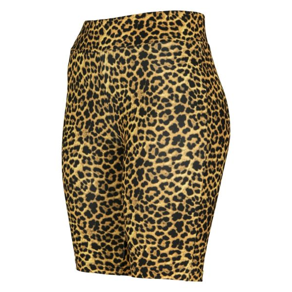 Urban Classics Ladies - CYCLE Shorts animal leopard