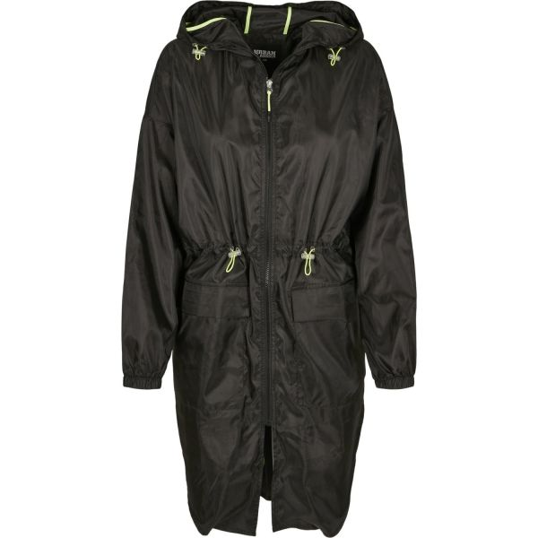 Urban Classics Ladies - Transparent Parka Windbreaker Jacke