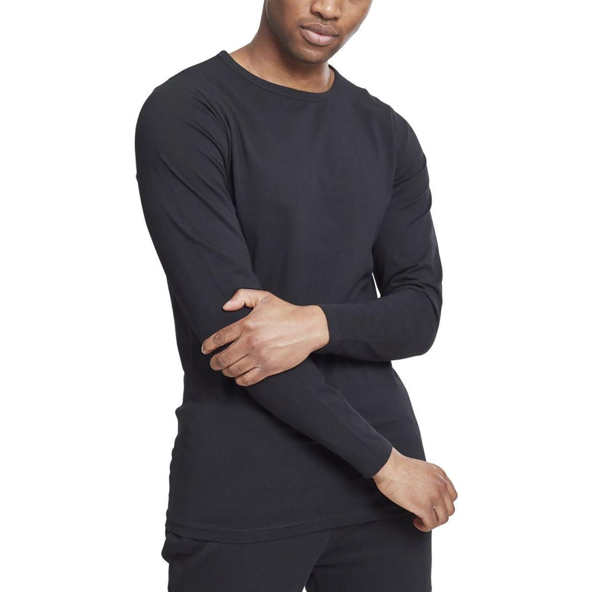 Urban Classics - FITTED STRETCH Longsleeve Langarm Shirt