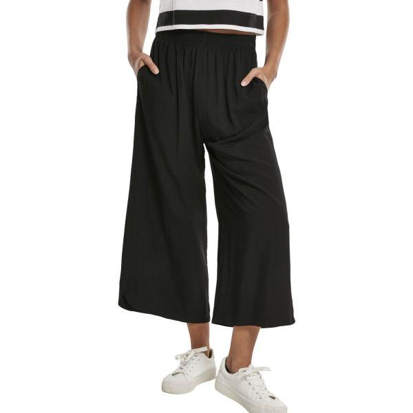 Urban Classics Ladies - Wide Culotte Pantalon noir