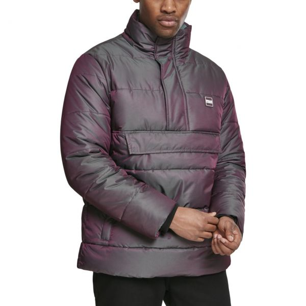 Urban Classics - Pull-Over Puffer Shimmering Winterjacke
