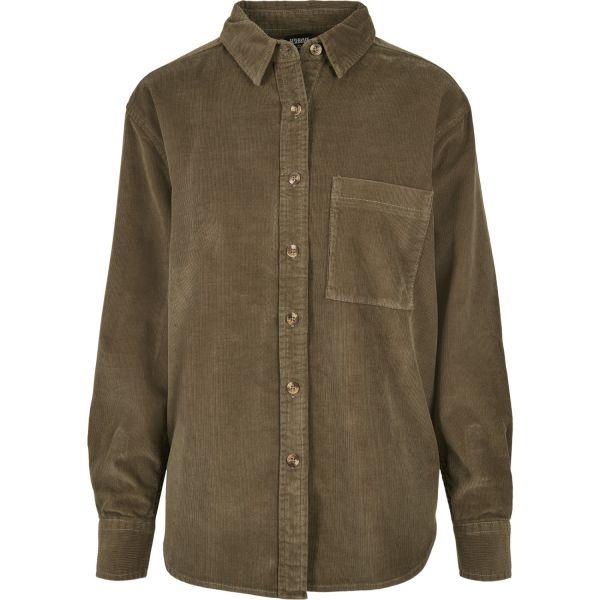 Urban Classics Ladies - KORD Oversized Shirt Hemd