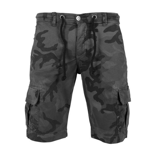 Urban Classics - Camo Cargo Shorts dark camo