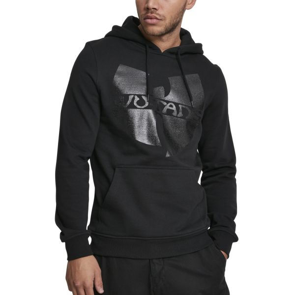 Wu-Wear Hip Hop Hoody - BLACK LOGO black
