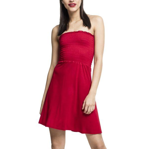 Urban Classics Ladies - Smoke Bandeau Sommer Kleid