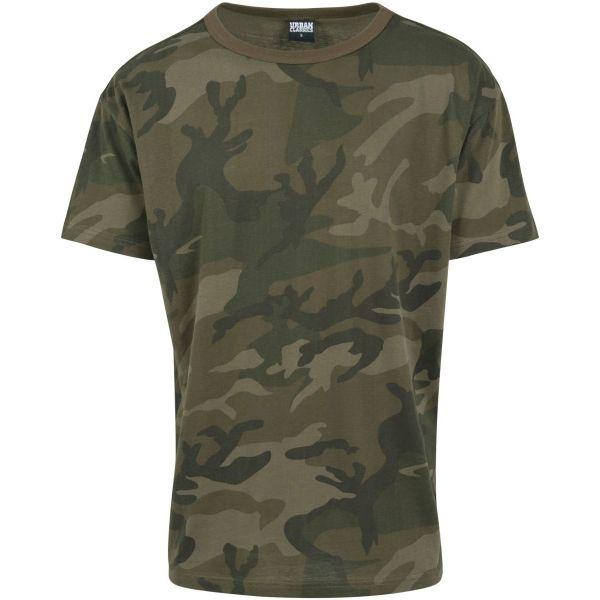 Urban Classics - Oversized Camouflage Shirt