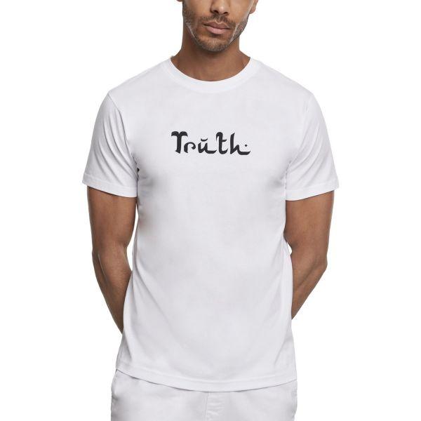 Mister Tee Shirt - TRUTH weiß