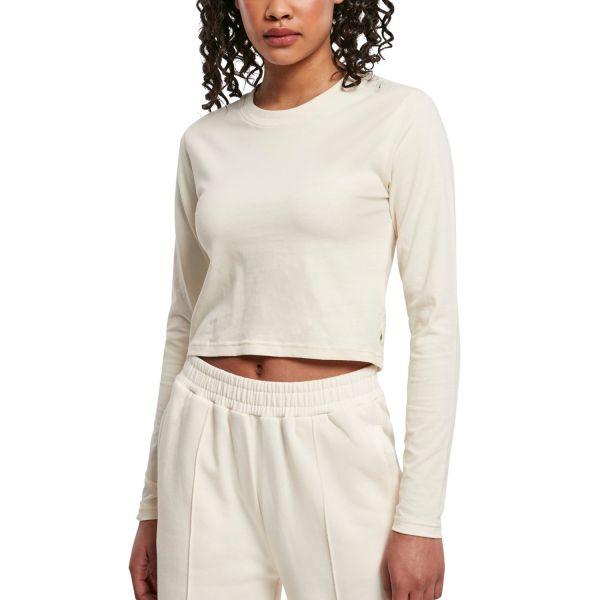Urban Classics Ladies - Organic Cotton Cropped Longsleeve