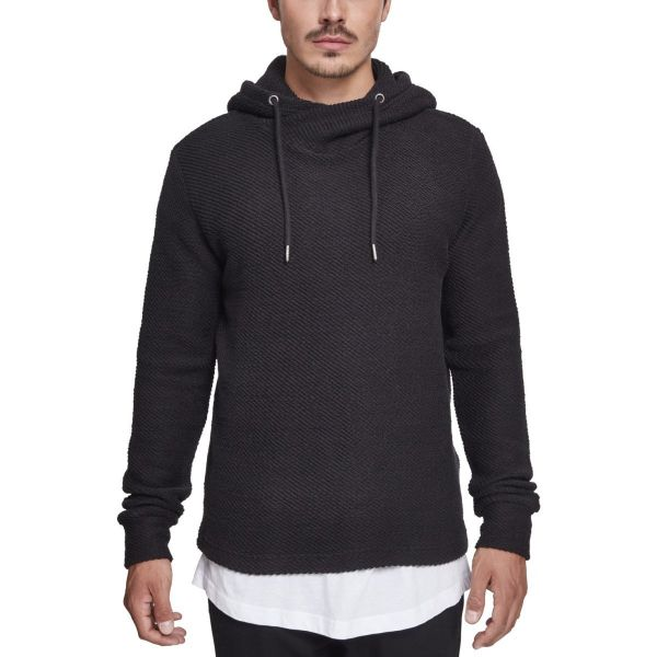 Urban Classics - Loose Terry Inside Out Hoody black
