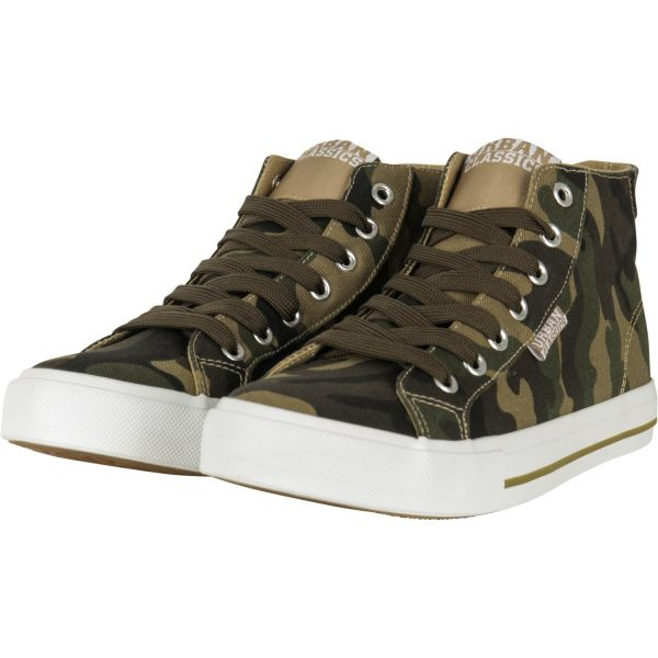 Urban Classics - High Top Canvas Sneaker Schuhe