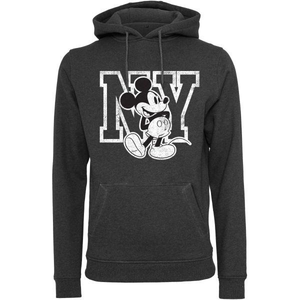 Merchcode Fleece Hoody - Mickey Mouse charcoal
