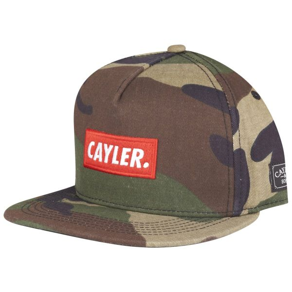 Cayler & Sons Snapback Cap - STATEMENT wood camo