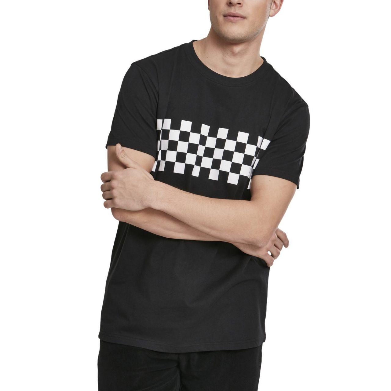 Urban Classics - Check Panel Skater Shirt