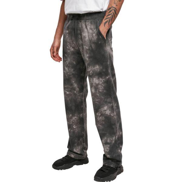 Urban Classics - Tye Dyed Sweatpants schwarz