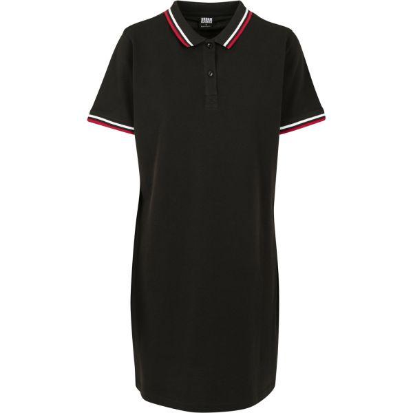 Urban Classics Ladies - Pique Polo Sommer Kleid