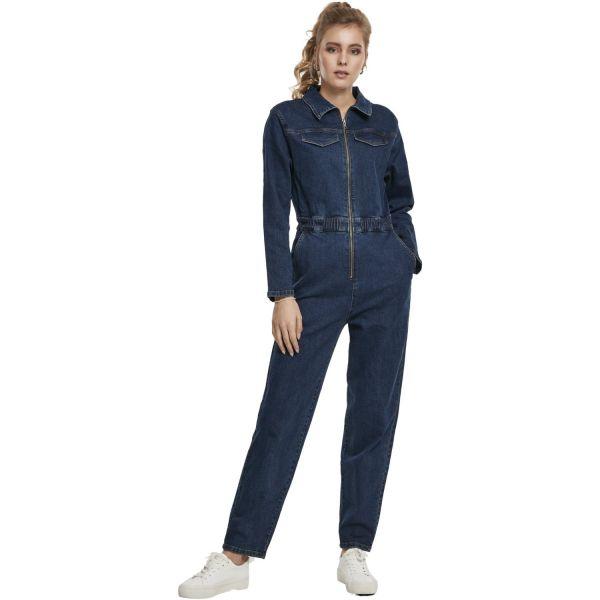 Urban Classics Ladies - Combinaison chaudière bleu foncé