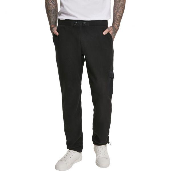 Urban Classics - Polar Fleece Pantalon noir