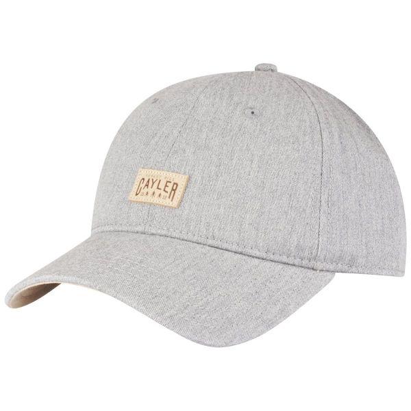 Cayler & Sons Curved Strapback Cap - HILL grau