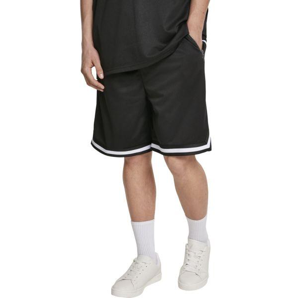 Urban Classics - BASKETBALL MESH Premium Shorts black