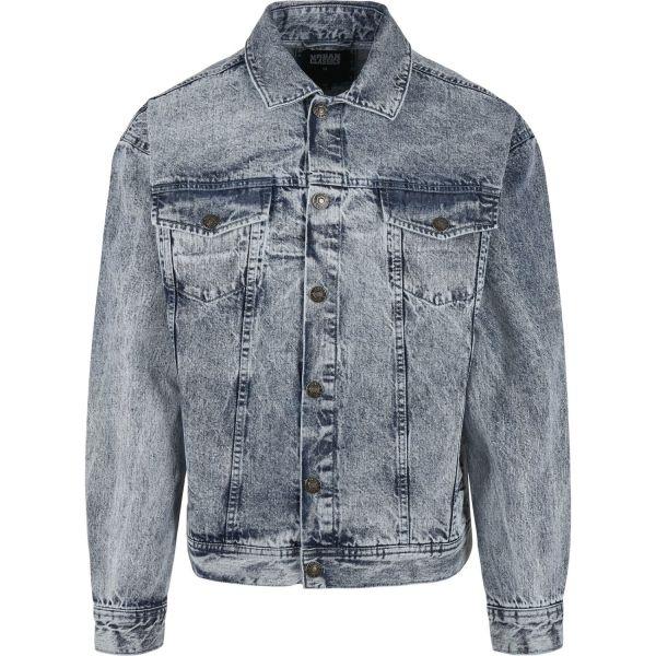 Urban Classics - Oversized Denim Jacke washed