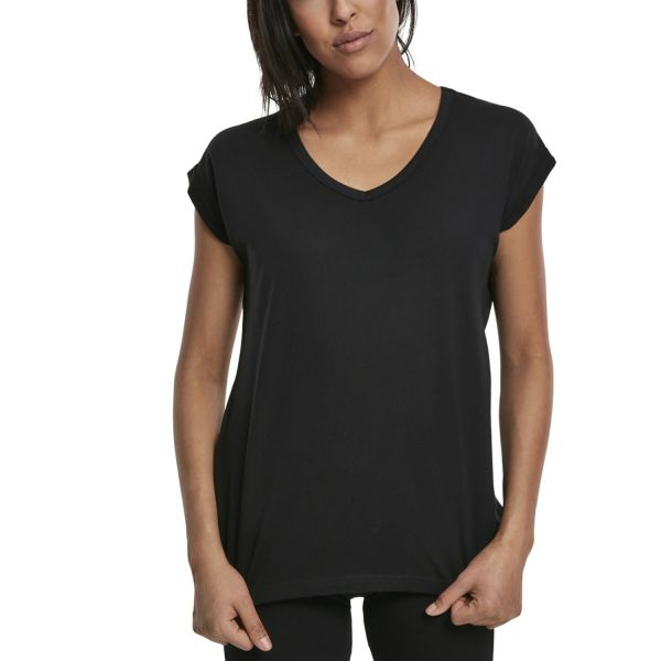 Urban Classics Ladies - EXTENDED SHOULDER Shirt