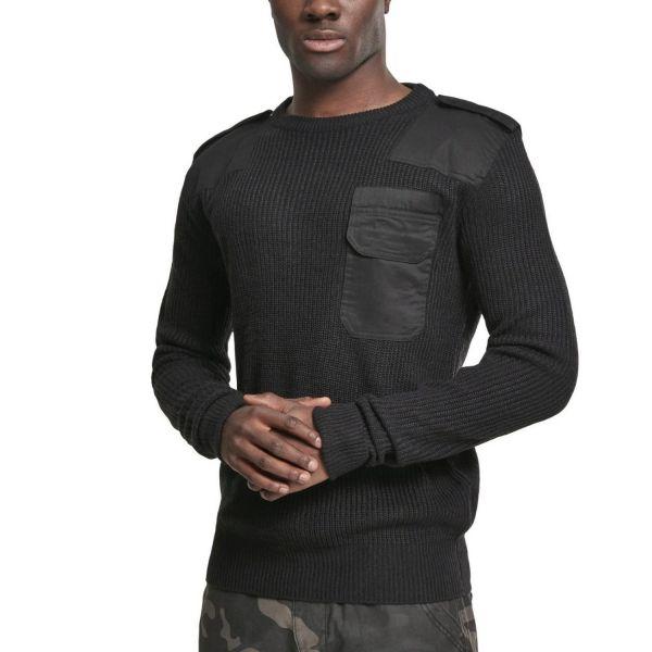 Brandit MILITARY Army Crewneck Pullover Sweater grey