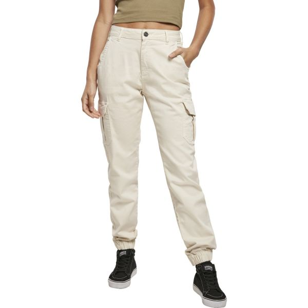 Urban Classics Ladies - High Waist Stretch Cargo Hose