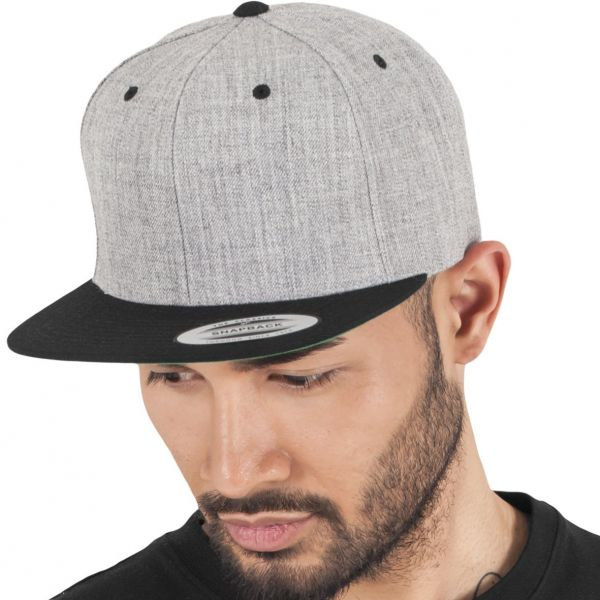 Flexfit Classic 2-Tone Snapback Cap - purple / gold