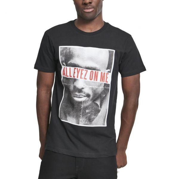 Merchcode Shirt - 2PAC All Eyez On Me schwarz