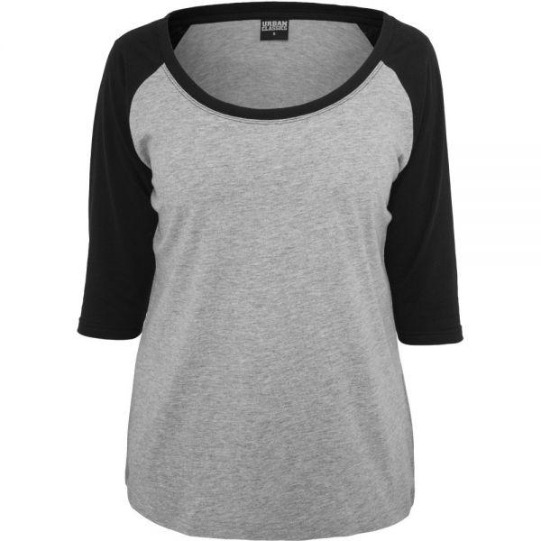 Urban Classics Ladies - 3/4 RAGLAN Longsleeve Top Shirt