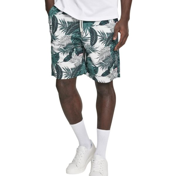 Urban Classics - Pattern Resort Shorts tropical