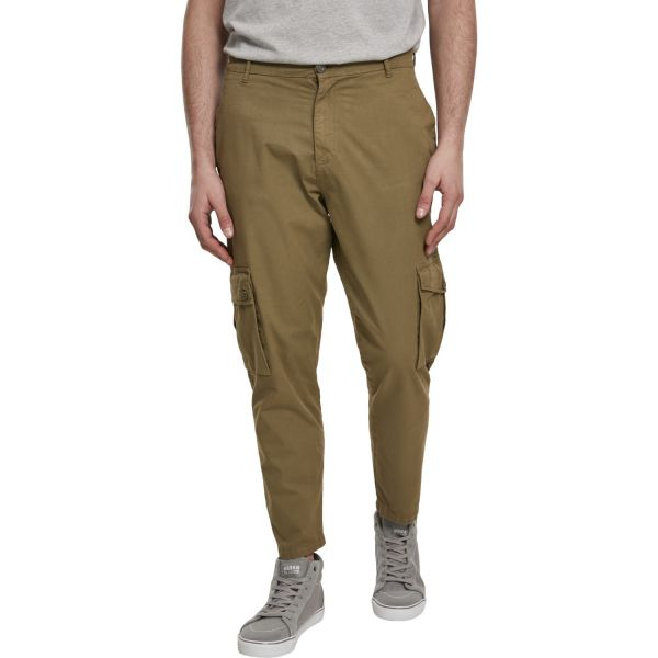 Urban Classics - Tapered CARGO Pants Hose oliv