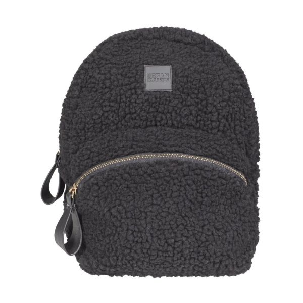 Urban Classics - SHERPA Mini Backpack Rucksack schwarz