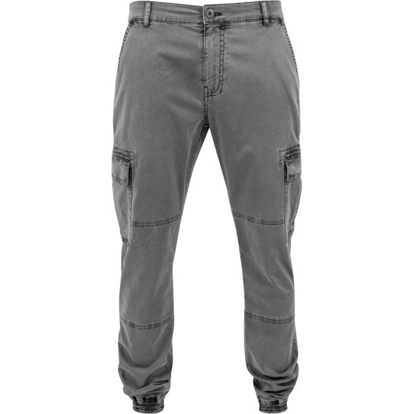 Urban Classics - Washed Cargo Twill Freizeit Hose