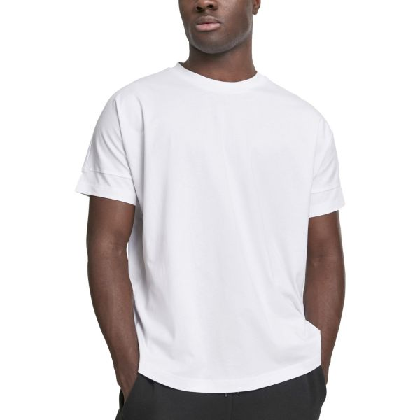 Urban Classics - Oversize Cut-On-Sleeve Shirt